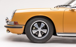 Картинка Porsche, Колесо, Classic, Porsche 911, 1968, Classic car, Targa, Porsche 911 S 2.0 Targa Sportomatic