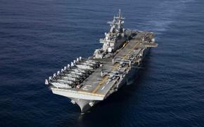 Картинка USS Kearsarge, LHD 3, Wasp-class amphibious assault ship