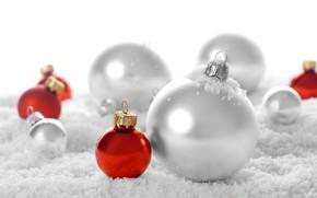 Картинка украшения, праздник, игрушки, шар, шарик