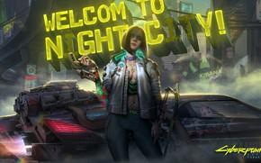 Картинка game, rpg, night city, CD Projekt RED, Cyberpunk 2077, Cyberpunk