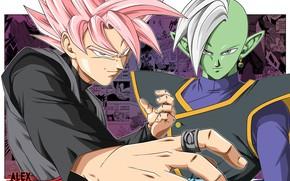 Картинка аниме, парни, манга, Dragon Ball