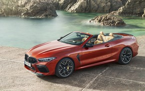 Картинка BMW, суперкар, Cabrio, Competition, 2019, BMW M8, F91