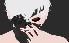 Картинка Tokyo Ghoul, Токийский Гуль, Канеки Кен