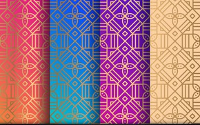 Картинка фон, узор, текстура, орнамент, pattern, floral, seamless, Geometric, Ornament