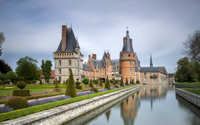 Картинка замок, Франция, Maintenon, Château de Maintenon
