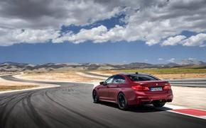 Картинка трасса, BMW, 2017, M5, F90, M5 First Edition