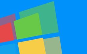 Картинка компьютер, логотип, windows, операционная система