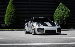 Картинка 911, Porsche, GT2 RS, Silver, VAG