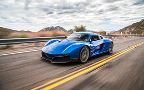 Картинка road, blue, Rezvani Beast Alpha