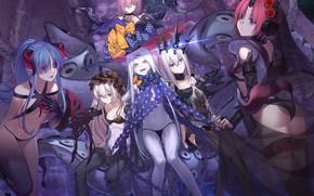 Картинка Девушки, Персонажи, Fate / Grand Order, Судьба великая кампания