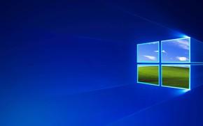 Картинка логотип, окно, Windows, квадрат, операционная система