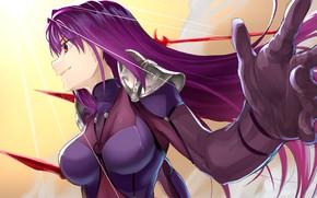 Картинка девушка, лансер, Fate / Grand Order, Судьба великая кампания
