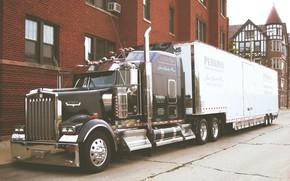 Картинка Truck, Kenworth, Tractor, W900
