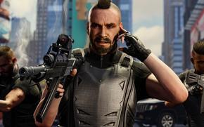 Картинка оружие, солдаты, Spider-Man, PS4, Человек - паук, Spider-Man (PS4)