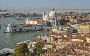 Картинка пейзаж, город, Италия, Венеция