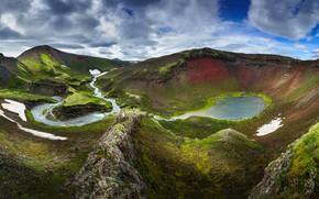 Картинка лето, природа, Исландия