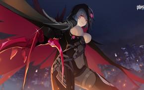 Картинка девушка, Raven, Honkai Impact 3rd