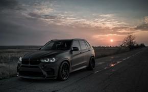 Обои закат, 2018, BMW X5, X5M, Z Performance