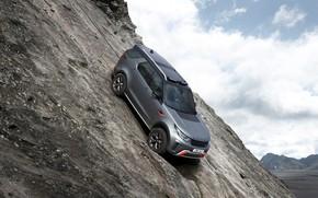 Картинка Land Rover, Discovery, 4x4, 2017, V8, SVX, 525 л.с., на склоне, 5 л.