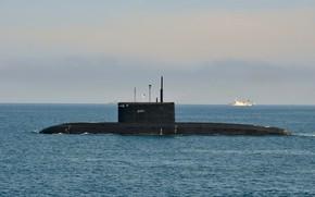 Картинка субмарина, Чёрное море, Колпино