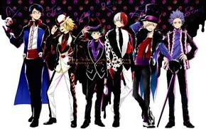 Картинка парни, карнавал, Boku no Hero Academia, My Hero Academia, Моя геройская акадеимя