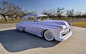Картинка Coupe, Pontiac, Old, 1951, Chieftain