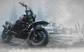 Картинка Gone, biker, PS4, Days, Zombies, Days Gone, Appocalipse