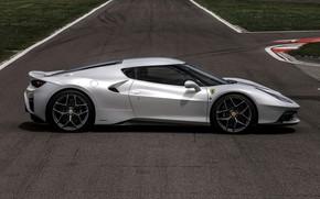 Картинка газон, трасса, профиль, Ferrari, 2017, 458 MM Speciale