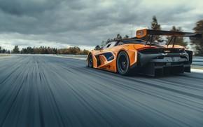 Картинка McLaren, скорость, гоночное авто, GT3, 720S, 2019