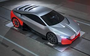 Картинка купе, BMW, стенд, 2019, Vision M NEXT Concept