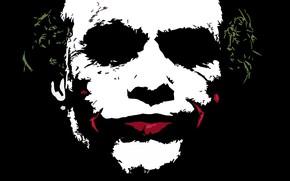 Картинка Joker, Dark knight, Minimalism
