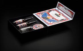 Картинка коробка, банка, бутылки, этикетки, AMSTEL KARGO IPA