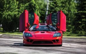Картинка Saleen, Двери, Суперкар, 2005, Twin Turbo, Saleen S7 Twin Turbo