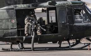 Картинка оружие, армия, солдат, CH-146 Griffon helicopter