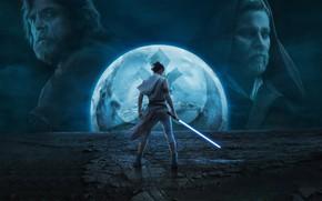 Картинка девушка, планета, Звёздные войны, 2019, Star Wars Episode IX: The Rise of Skywalker