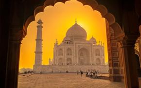 Картинка Индия, Тадж-Махал, Агра