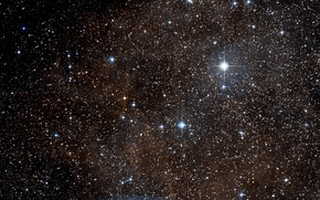 Картинка Stars, Dust, RCW 38, Gas, Wide Field View, Digitized Sky Survey, Constellation of Vela, Surroundings, …
