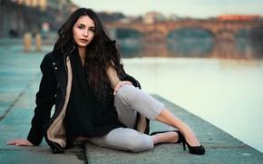 Картинка девушка, модель, Nicole