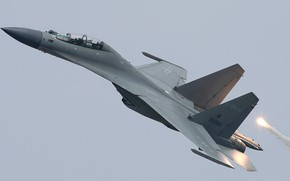 Картинка plane, jet, fighter jet, J-16, PLAAF, flanker