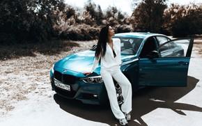 Картинка машина, авто, девушка, поза, BMW, Belavin, Александр Белавин