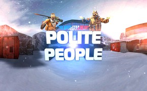 Картинка Counter Strike, Вежливые люди, De_nuke