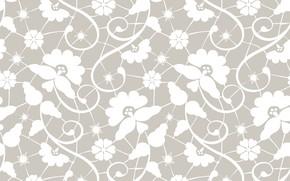 Картинка цветы, фон, узор, текстура, background, pattern, floral
