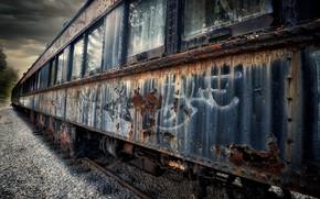 Картинка Graffiti, Old, Rustic, Restoration Depot, Vintage Train