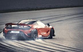 Картинка McLaren, 2020, V8 twin-turbo, 765 LT, 765 л.с., 765LT