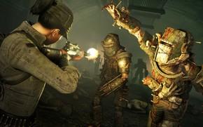 Картинка оружие, игра, зомби, солдаты, Zombie Army 4: Dead War