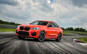 Картинка BMW, гоночный трек, кроссовер, Competition, X4 M, 2020