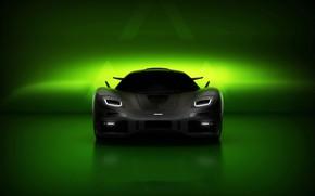 Картинка рендеринг, суперкар, McLaren F1, Hyperion Edition