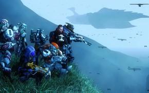 Картинка star wars, shepard, Mass Effect, crossover, garrus vakarian, turian, Quarian, Tali'Zorah nar Rayya