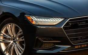 Картинка Audi, перед, 2019, A7 Sportback