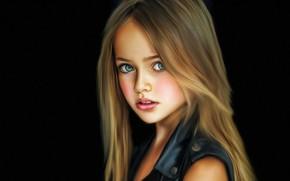 Картинка девушка, портрет, кристина пименова